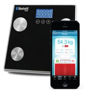 Bluetooth Body Fat Water Bone Muscle Scale