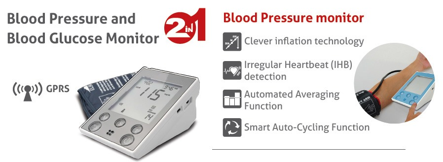 SIFHEALTH-3.7 Blood pressure - Blood Glucose -3- GPRS