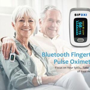 Bluetooth-fingertip-Pulse-Oximeter