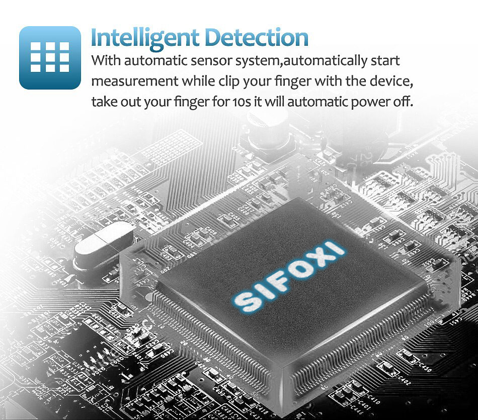 Pulse Oximeter - Intelligent Detection