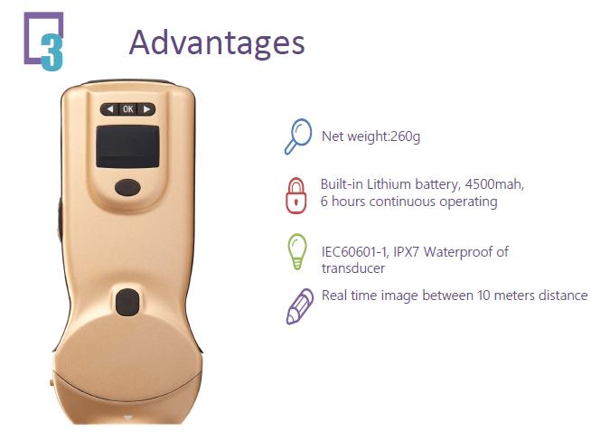 Color Ultrasound Scanner: SIFULTRAS-4.0 advantages