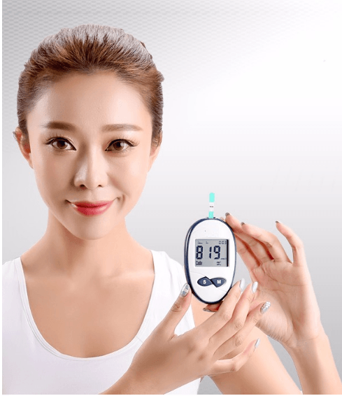Portable Blood Glucometer, FDA Approved SIFGLUCO-4.9 model