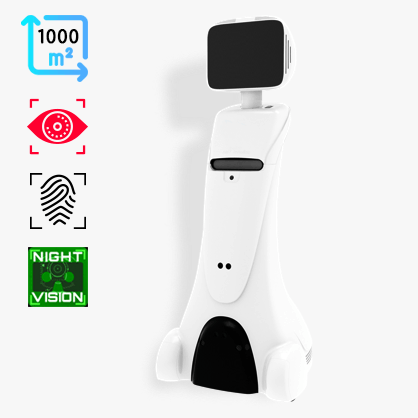 Intelligent Telepresence Robot SIFROBOT-2.1 With 1000² Laser Navigation Area main pic
