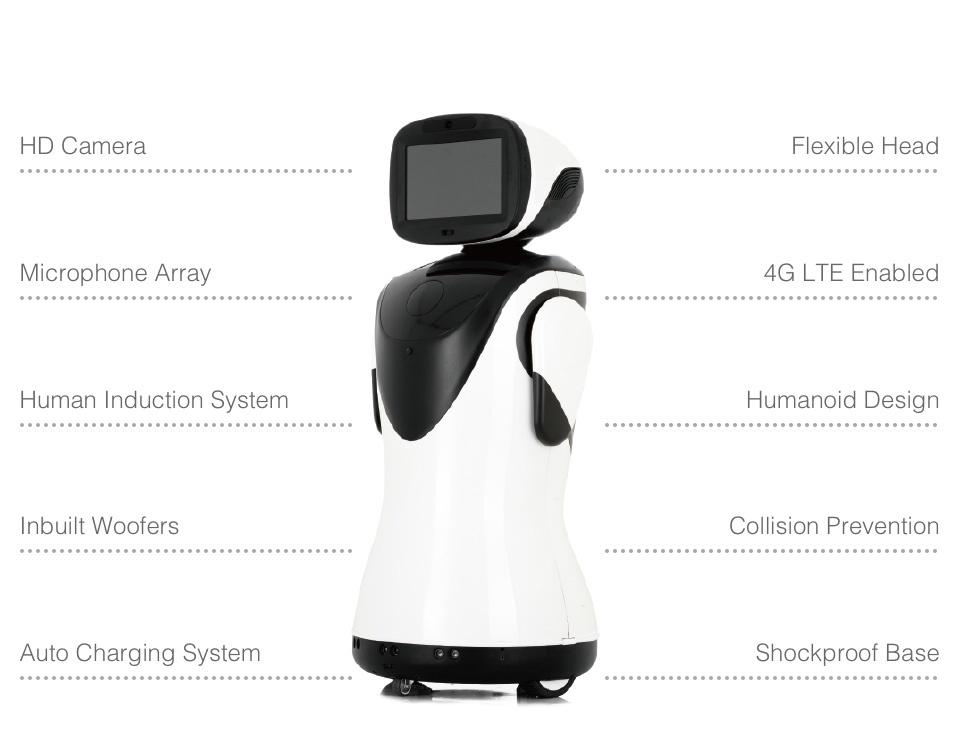 Professional Telepresence Robot Humanoid Design SIFROBOT-4.2 skills