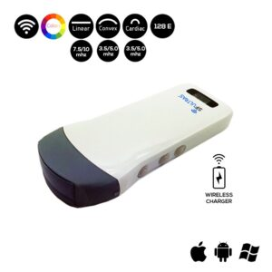 Wireless 3 in 1 Ultrasound Scanner SIFULTRAS-3.3 Triple Headed: Convex, Linear and Cardiac Probe main pic