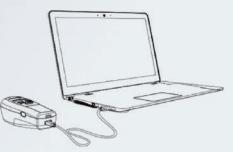 FDA Portable Vein Finder SIFVEIN-7.2 USB port for data transfer