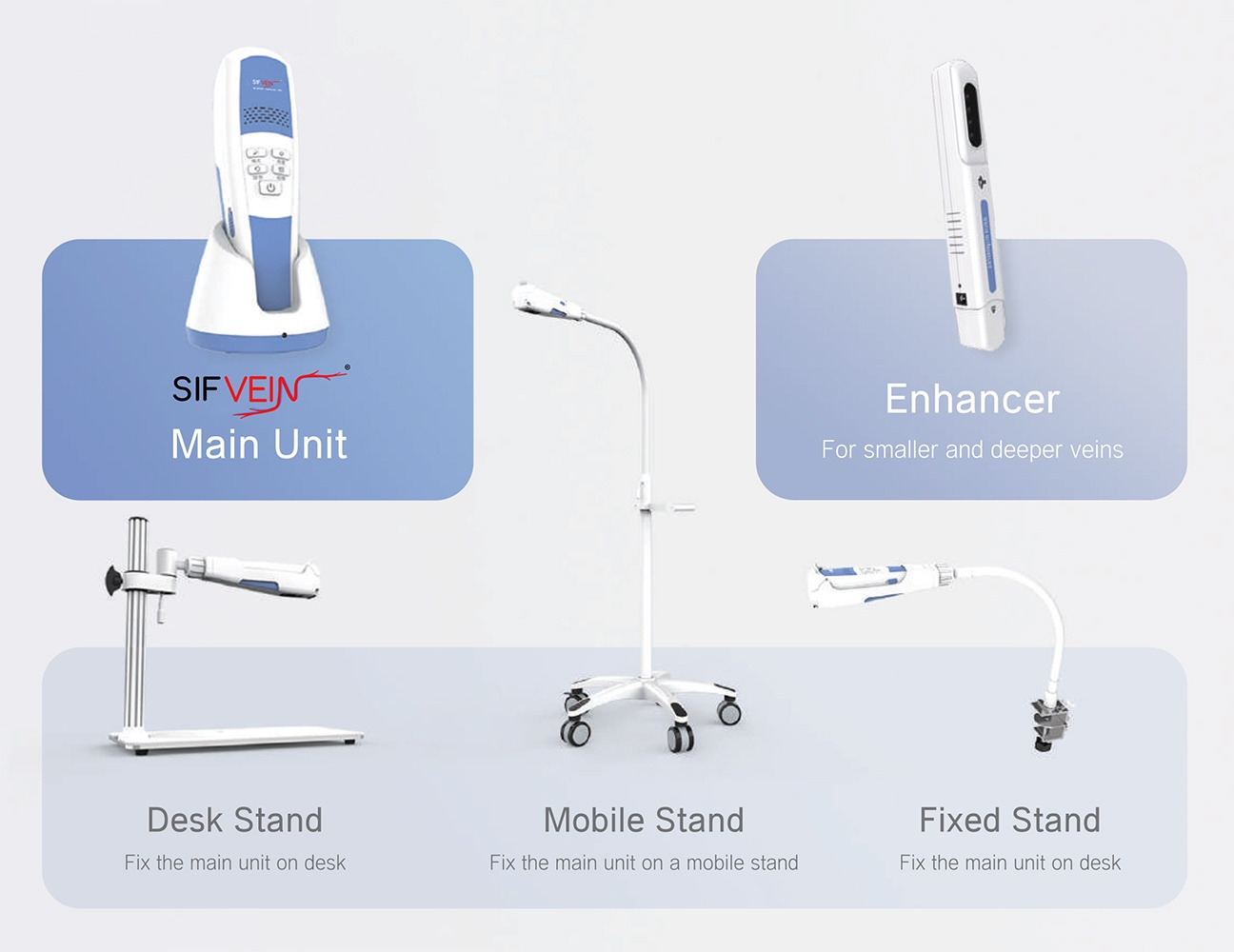FDA Portable Vein Finder SIFVEIN-7.2 accessories