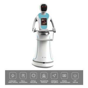 Humanoid-Waiter-Robot-with-Laser-Navigation-for-Delivery-Food-and-Drink - SIFSOF