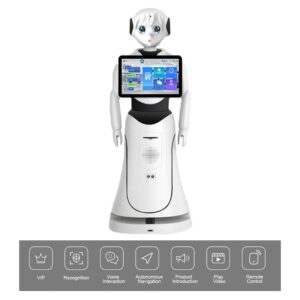 Intelligent Humanoid Reception Telepresence Robot SIFROBOT-5.0 main