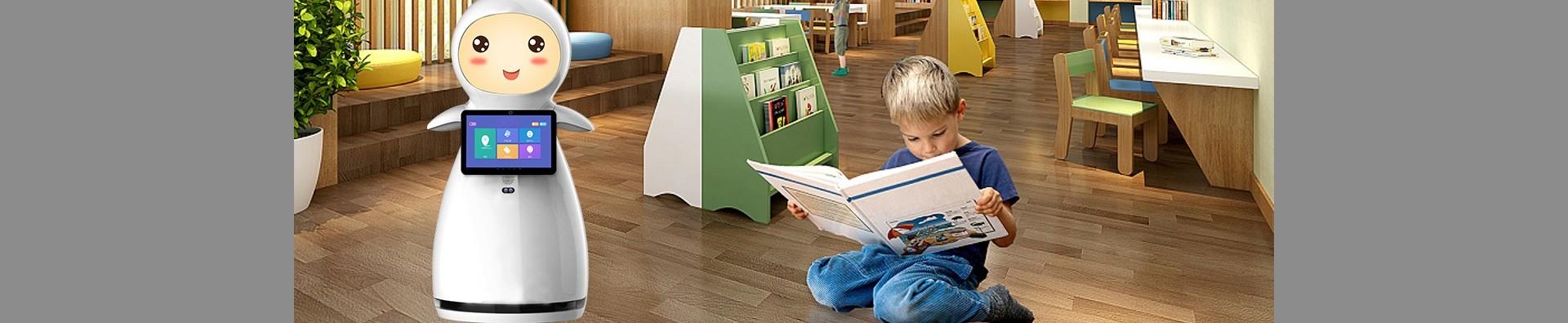 AI Smart Telepresence Educational Robot SIFROBOT-5.1 children