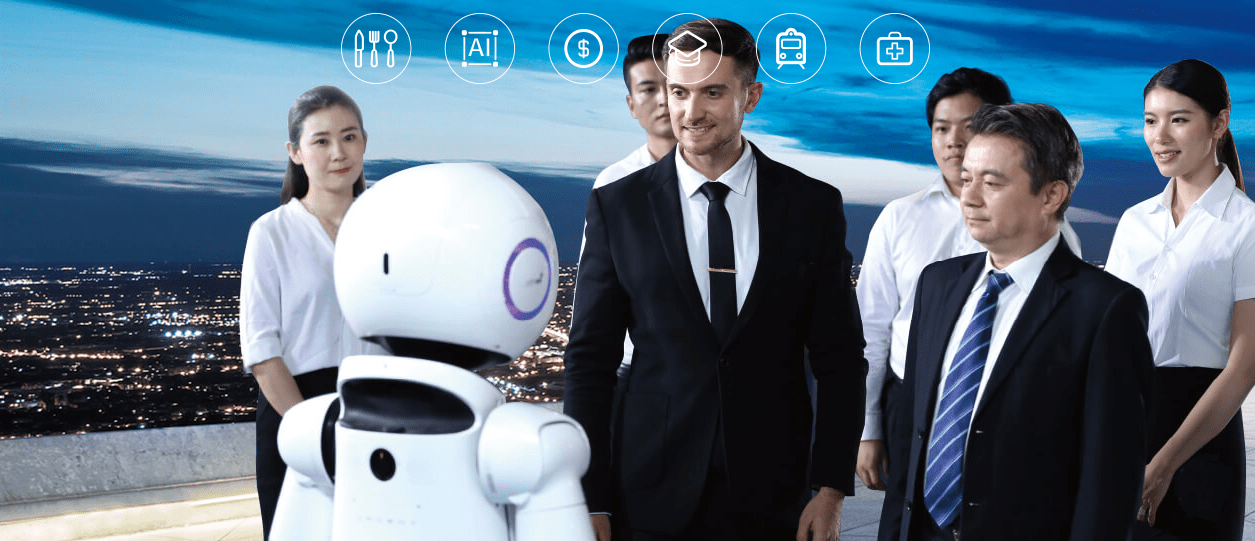 AI Humanoid Commercial Service Robot SIFROBOT-6.0 business