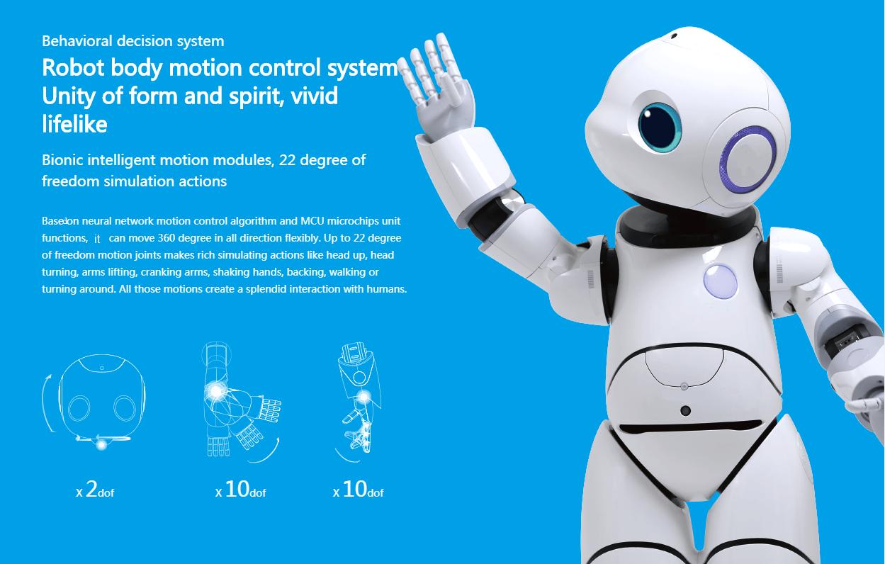 AI Humanoid Commercial Service Robot SIFROBOT-6.0 robot