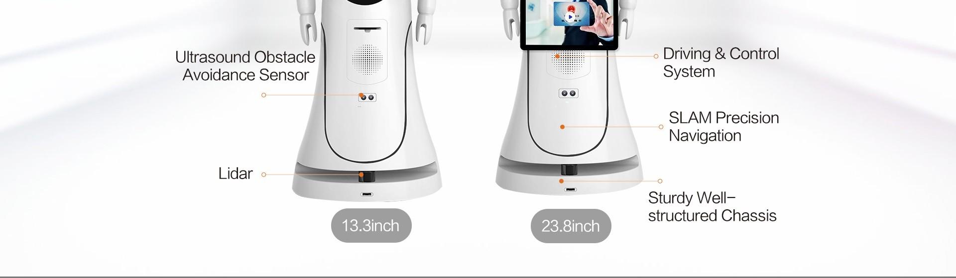 Intelligent Humanoid Reception Telepresence Robot SIFROBOT-5.0  robot