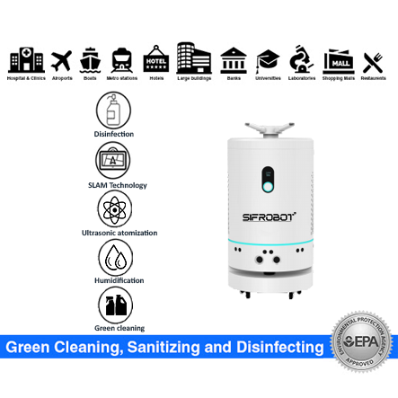 Autonomous Disinfection and Humidification Robot: SIFROBOT-6.3