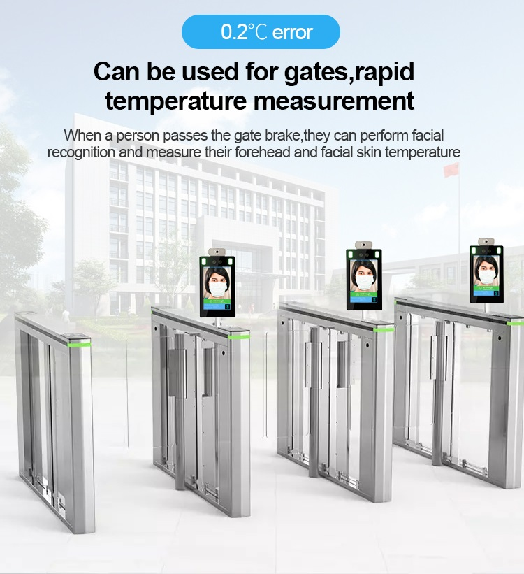 Standing Face Recognition Infrared Non-Contact Thermometer - SIFROBOT-7.23 error