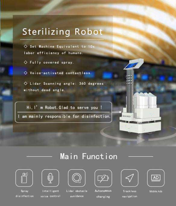 disinfection-robot-main-functions