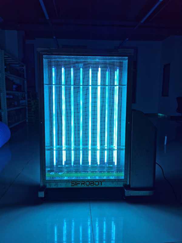 UVC light Disinfection Mobile UV Sterilization Lamp