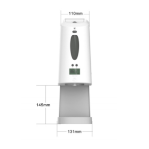 Hand Sanitizer Dispenser & Temperature Checker: SIFCLEANTEMP-1.3