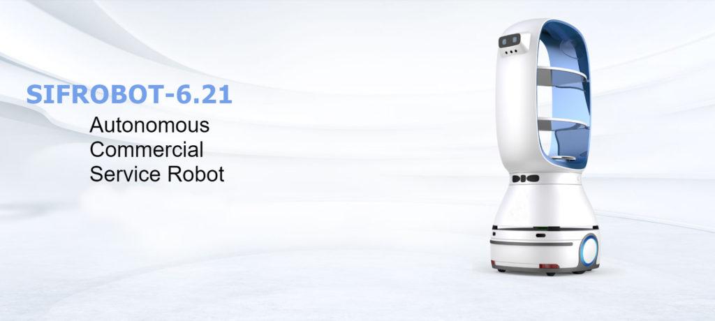 Autonomous Delivery Robot: SIFROBOT-6.21