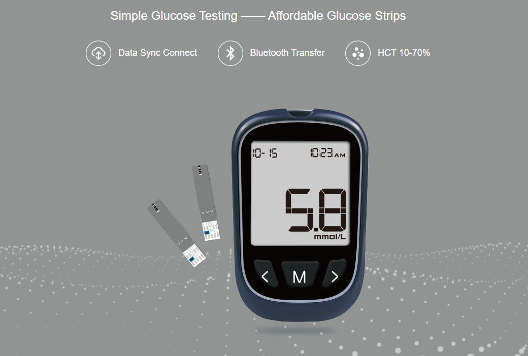 Bluetooth Blood Glucose Meter: SIFGLUCO-3.3  features
