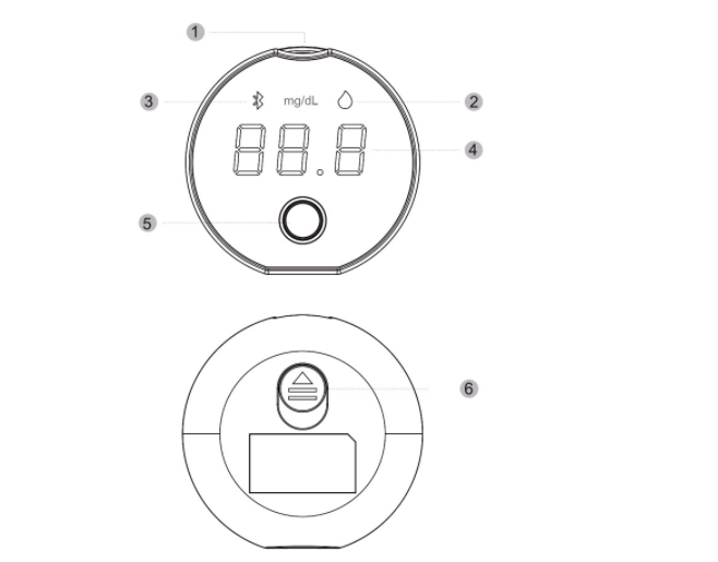 Bluetooth Blood Glucose Monitor SIFGLUCO-3.4 specifc