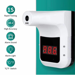 Bluetooth Wall-Mounted Infrared Thermometer: SIFROBOT-7.6 main pic