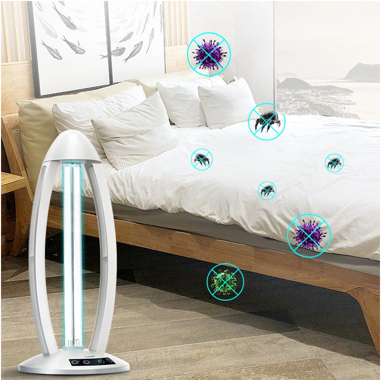 Home Safety Package SAFEHOMEPACK-1.2: Bluetooth Doorbell Non-Contact Thermometer + Disinfection UV Lamp + UV LED Sterilizer Box  + Handheld UV Light Sterilization Stick SIFSTERIL-1.2 UV