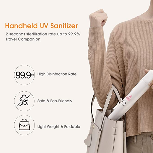 Home Safety Package SAFEHOMEPACK-1.2: Bluetooth Doorbell Non-Contact Thermometer + Disinfection UV Lamp + UV LED Sterilizer Box  + Handheld UV Light Sterilization Stick SIFSTERIL-1.6 Properties