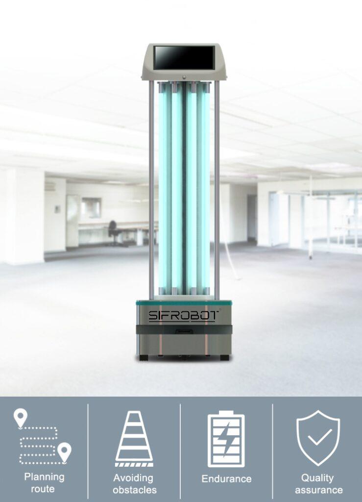 Autonomous UVC Disinfection Robot