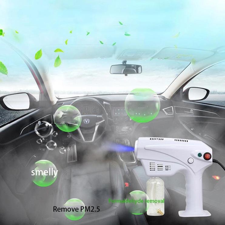 Dry Fog Disinfection Spray Gun: SIFSPRAY-1.1 car