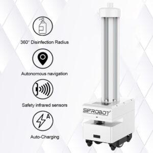Autonomous UVC Disinfection Robot: SIFROBOT-6.71