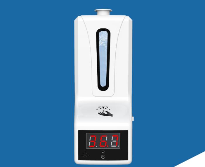Non-contact 2 in1 Sanitizer dispenser and temperature checker