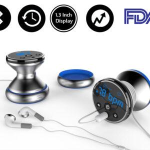 Bluetooth Cardio Pulmonary Stethoscope FDA: SIFSTETHO-1.0