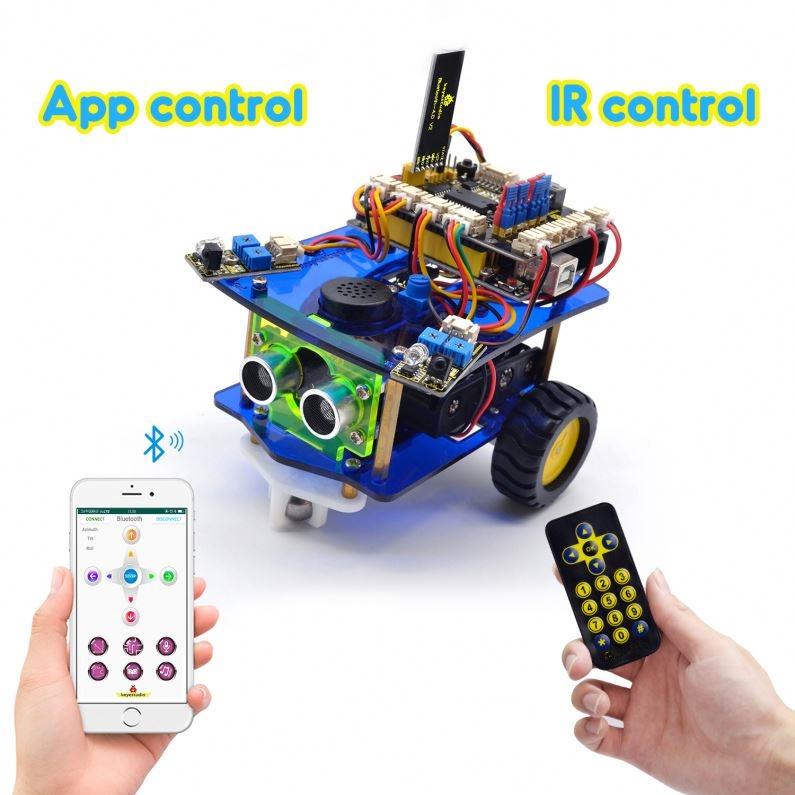 Programmable Robotic Kit: SIFKIT-1.1